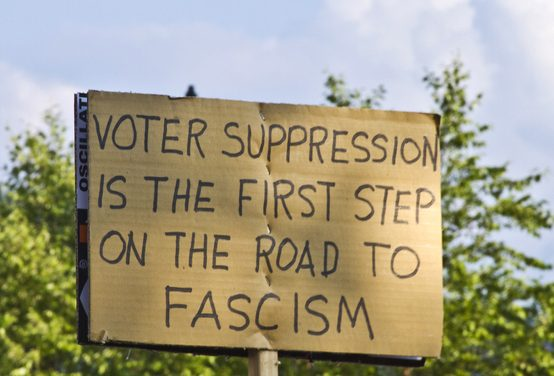 THE MOST MASSIVE VOTER SUPPRESSION OPERATION IN AMERICAN HISTORY ALREADY HAS STARTED